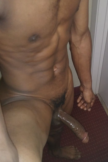 gay black super hot escort